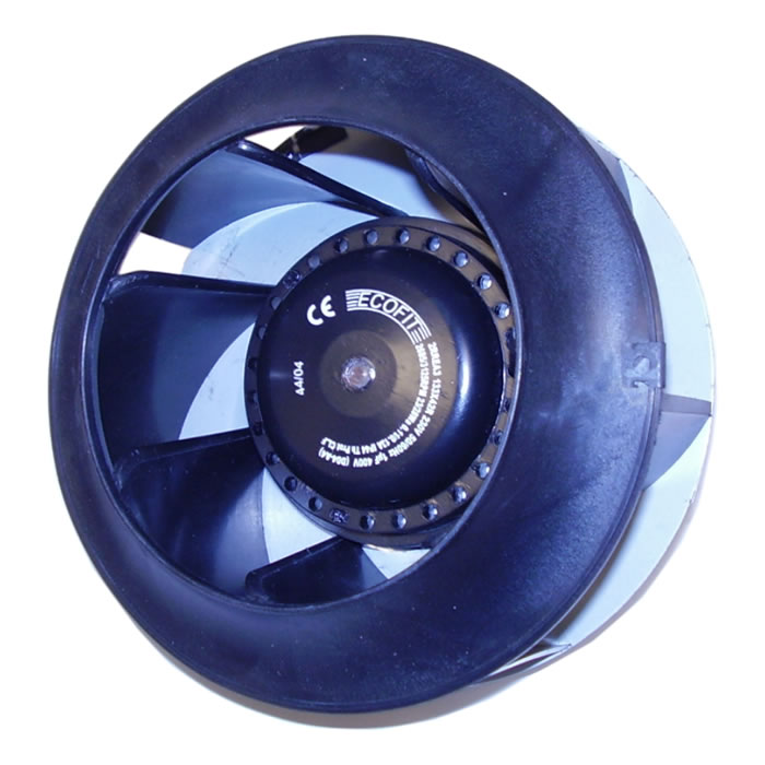 Backward Curved Fan : Backward curved centrifugal fans