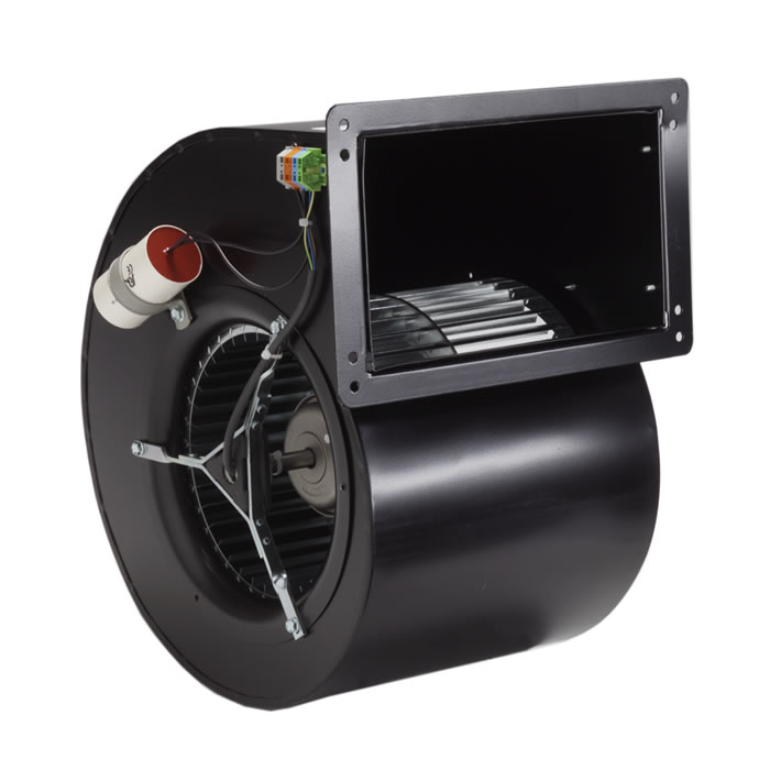 Thumbnail of Forward Curved Centrifugal Fans - Double inlet - external rotor motor