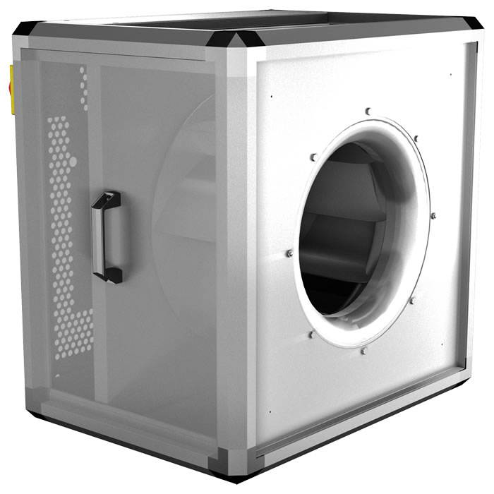 Duct Fan In An Enclosure : Unobox fans axair