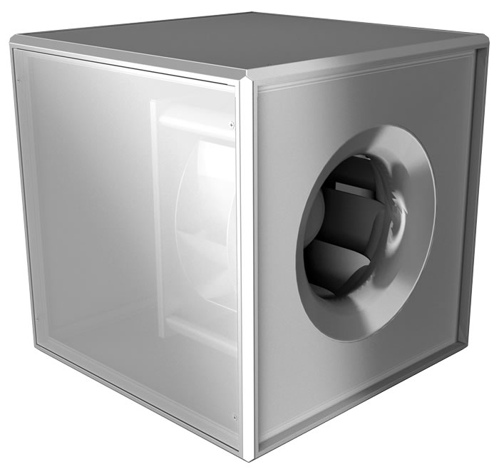 Thumbnail of Backward curved centrifugal fans - Square duct fans - UNOBOX
