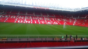 Old Trafford With Axair Fans