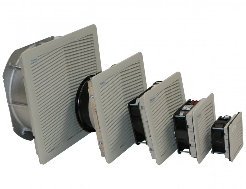 Industrial Fan Switch : Filter fans fan units for effective enclosure