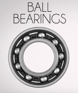 ball bearings in industrial fans