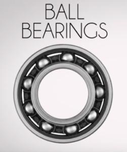 ball bearings in industrial fans