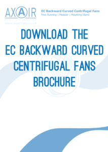 EC Backward Curved Centrifugal Fans Brochure