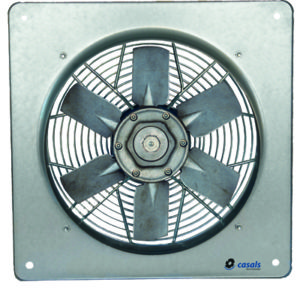 ATEX Fan Square Wall Plate Variable Pitch Blades