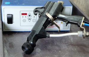 paint spray booth gun