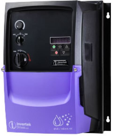 inverter invertek motor fan control speed energy saving