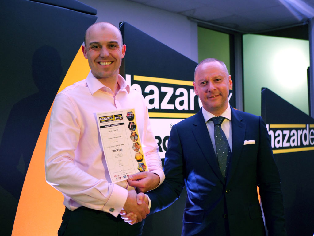 Axair recognised at Hazardex Awards 2019